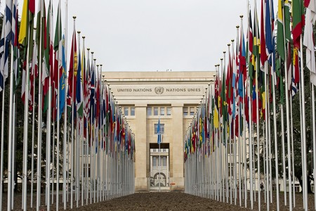 UNOG flags return after renovation