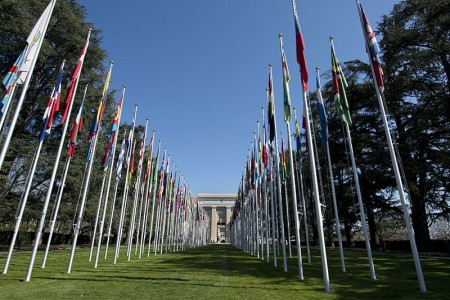United Nations in Geneva.
